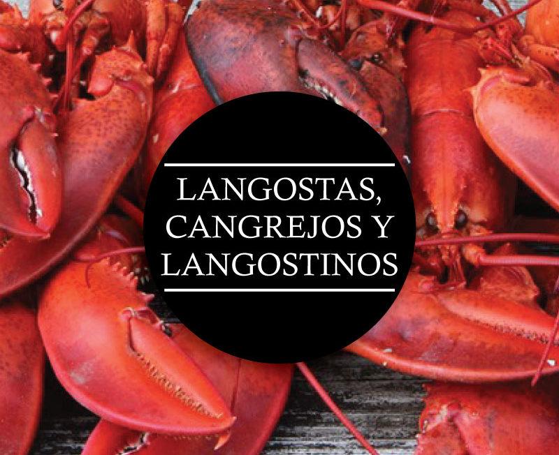 Langostas, Cangrejos y Langostinos